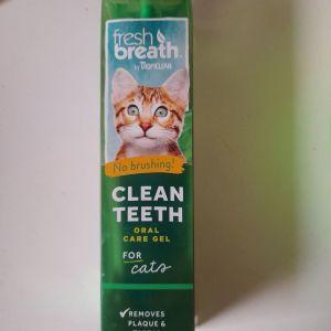 Tropiclean Για Γάτες Fresh Breath Clean Teeth - Gel Οδοντικού Καθαρισμού 59Ml