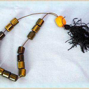Κομπολόϊ Αραβική μαστίχα, με ιδιαίτερες πράσινο-κίτρινες ανταύγιες