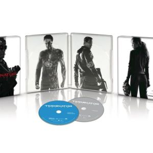 Terminator: Genisys (Bluray 3D + 2D Limited Edition Steel book)