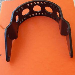 Black chrome front fork brace - hornament - Επέκταση μπροστινού φτερού & Σταιεροποιητής πιρουνιοών Yamaha xvs 650, 400 drag star