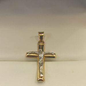 χρυσός σταυρός 18Κ