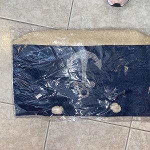 τσάντα παραλιας με άγκυρα 2
