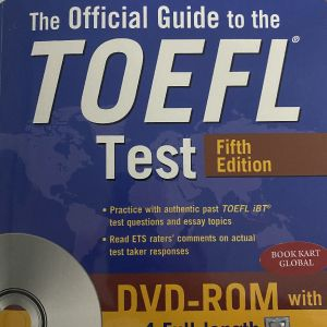 The official Guide to Toefl- 5th edition