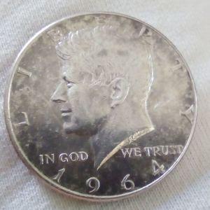 1/2 Δολαριο 1964(ασημενιο)