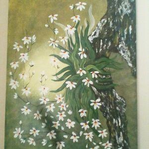 Πίνακας λάδι σε μουσαμά
