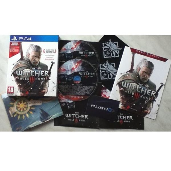 The Witcher 3 Wild Hunt - Day One Edition contents