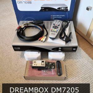 ΔΟΡΥΦΟΡΙΚΟΣ ΔΕΚΤΗΣ DREAMBOX DM7025 + DVB-S TUNER MODULE