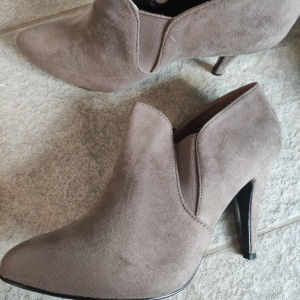 Suede Boots Brand New 41 Greige