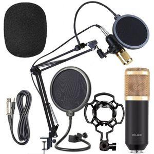 Μικρόφωνο BM-800, με κάρτα ήχου, Βάση, Shock Mount και Pop Filter