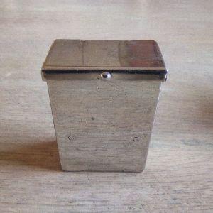 Συλλεκτικό ασημένιο κουτάκι τασάκι Pioneer USA