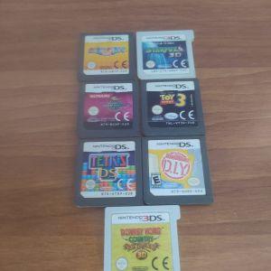 κασέτες για Nintendo ds και 3ds διάφορες