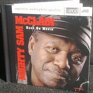 MIGHTY SAM  MCCLAIN - KEEP ON MOVIN  - CD