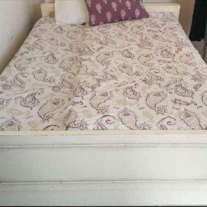 Σκελετός κρεβατιού ξύλο vintage 1.40*1.90