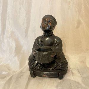Παλιό Κινεζικό Μπρούτζινο Αγαλματάκι. 12 εκ ύψος. Σε αψογη κατασταση