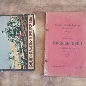 2 βιβλία εκμαθησης Γεωργικών μηχάνηματων ξενόγλωσσα