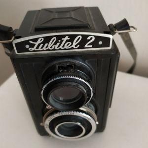 Φωτογραφική μηχανή αντίκα lubitel 2.