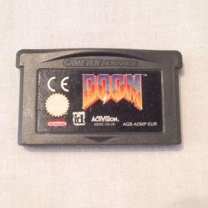 Αυθεντικό Doom παιχνίδι για Gameboy