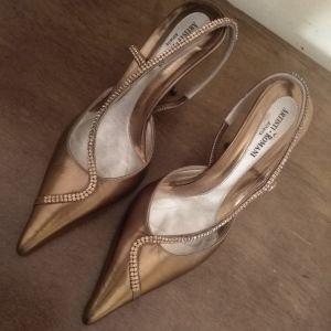 Παπούτσια Επώνυμα Δερμάτινα Νο 37