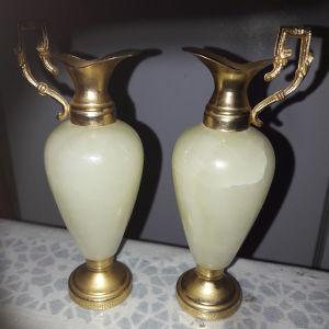 2 μαρμάρινα βαζάκια από Αιγυπτο