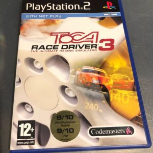 PS2 Game -TOCA RACE DRIVER 3