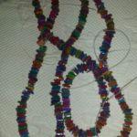 Mother of pearl χρωματιστά και χάντρες για κατασκευή κοσμημάτων