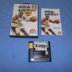 NBA LIVE 97 - SEGA MEGA DRIVE