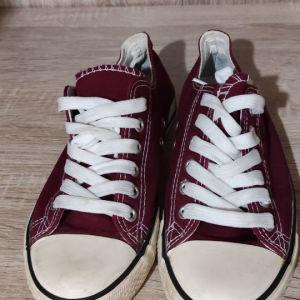 Αθλητικά παπούτσια νούμερο 37 μπορντό χρώμα