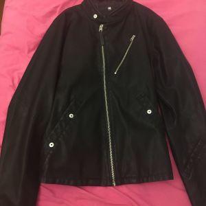 G-star RAW biker jacket.
