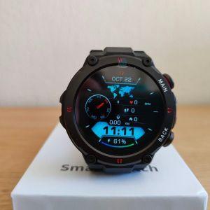 Smartwatch καινούργιo με οθόνη πλήρους αφής ,custom watchfaces, έλεγχο μουσικής και μπαταρία 400mah
