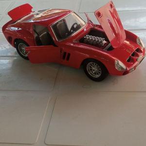 ferrari GTO 1962 1/18 1962 burago made in italy