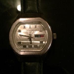 Πωλείται το σπάνιο και εξαιρετικό ελβετικό αυτόματο ρολόι JOVIAL 25 jewels με πλήρες service