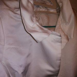 Άσπρο σακάκι ZARA L-XL νούμερο.