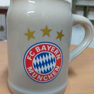 Ποτήρι μπύρας Μπάγερν Μονάχου