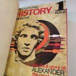 International history magazine 2 τόμοι δερματοδετος