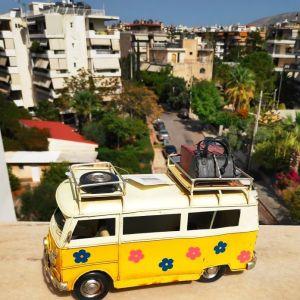 Crazy Touring Van Figure