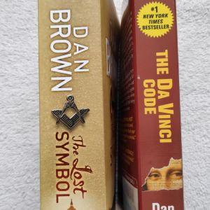 2 Βιβλία του Dan Brown στα αγγλικά