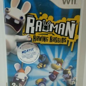 RAYMAN RAVING RABBIDS NINTENDO Wii PAL NEW NORTEC