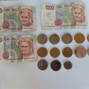 Συλλεκτικά κέρματα και τραπεζογραμματια Ιταλίας (Λίρες)