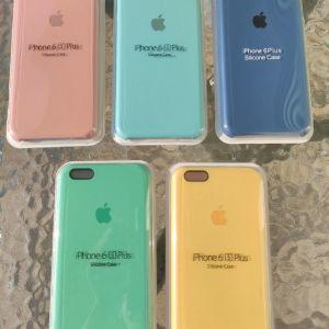 New. για Apple IPhone 6 Plus / 6S Plus (5,5). Original OFFICIAL Apple Θήκες σιλικόνης. Ολοκαίνουργιο στη συσκευασία!