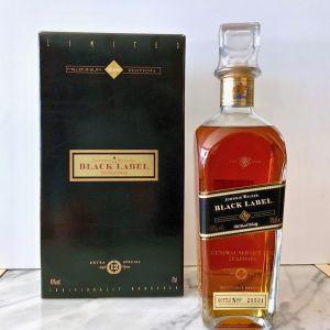 Johnnie Walker BLACK LABEL Whisky 12 Ετών MILLENNIUM 2000 LIMITED EDITION