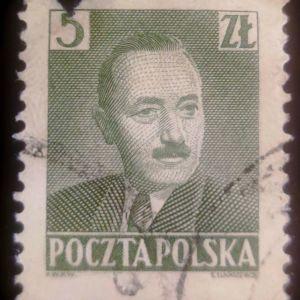 Πολωνία 1950 - Boleslaw Bierut (1892-1956), President