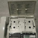 Panasonic vintage 1980 τηλέφωνο με τηλεφωνητή