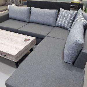 Γωνιακός καναπές καινούριος με διάσταση 280 Χ 220.