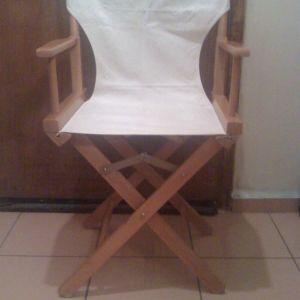 7 καρέκλες ξύλινες πτυσσόμενες,90 ευρώ