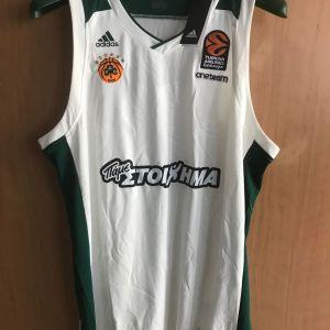 ΕΜΦΑΝΙΣΗ ΜΠΑΣΚΕΤ ΠΑΝΑΘΗΝΑΪΚΟΣ 2017-2018 Adidas Away Kit