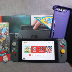 Nintendo Switch + Παιχνίδια + Αξεσουάρ