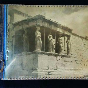 Άλμπουμ φωτογραφιών δεκαετίας'50, Ερέχθειο Καρυάτιδες. Διαστάσεις 33χ24 εκατοστά. Φύλλα 15