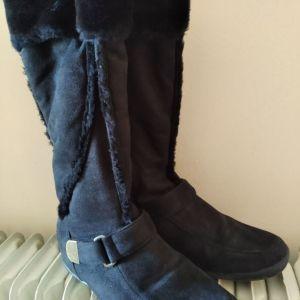 Μπότες καστόρ με γούνα