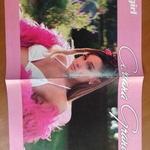 Αφίσα Ariana Grande Miley Cyrus