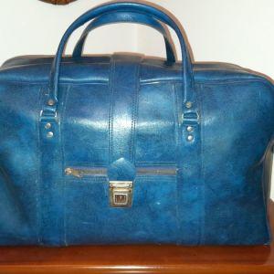 Δερμάτινη βαλίτσα vintage